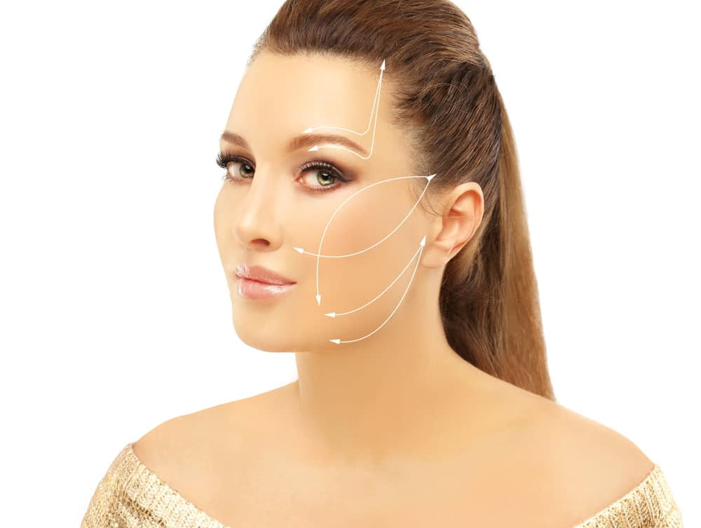 A non-surgical facelift can be performed during your lunch hour.