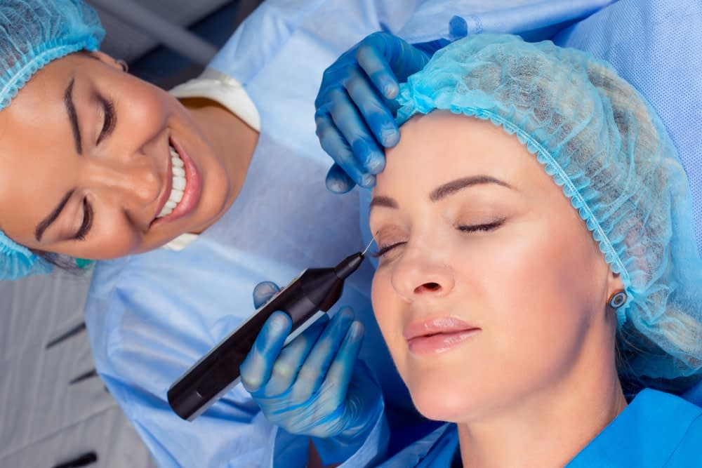 Threads are less expensive and less invasive compared to face lift surgery.
