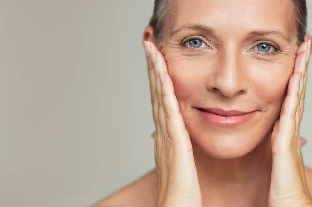 Thread lift can help lift sagging skin for a youthful look.